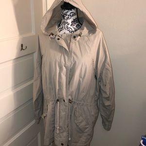 Nordstrom rain jacket good condition, PL